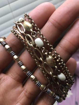 Tarnished bracelet from Lucky Brand