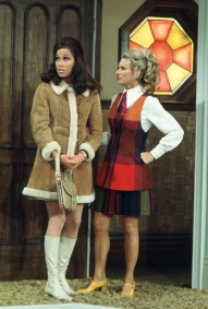 Mary Tyler Moore and Valerie Harper