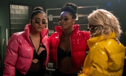 """STAR: L-R: Brittany O'Grady, guest star Keke Palmer and Ryan Destiny in the """"Amazing Grace"""" episode of STAR airing Wednesday, April 10 (9:00-10:00 PM ET/PT) on FOX. ©2019 Fox Media LLC CR: Wilford Harewood/FOX."""