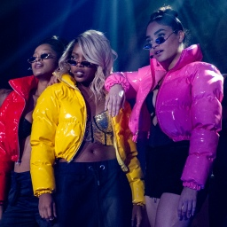 """STAR: L-R: Guest star Keke Palmer, Ryan Destiny and Brittany O'Grady in the """"Amazing Grace"""" episode of STAR airing Wednesday, April 10 (9:00-10:00 PM ET/PT) on FOX. ©2019 Fox Media LLC CR: Wilford Harewood/FOX."""